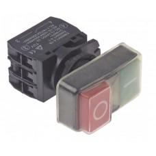 Buton (intrerupator) ø22mm rosu/verde 1NO/1NC/indicator luminos 240V 10A ON-OFF #347819