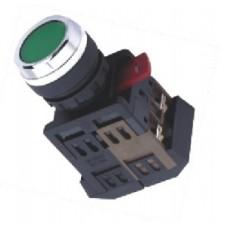 Buton verde 380V max #ABF-22&25