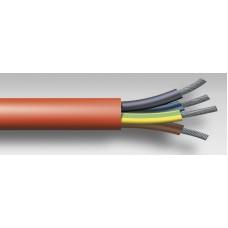 Cablu flexibil izolat cu silicon rezistent la temperatura SiHF 4G2.5mmp, HELUKABEL #23029