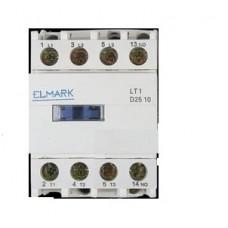 Contactor 11kW/400V, 1NO, 400V 50/60Hz ELMARK #LT1-D2510