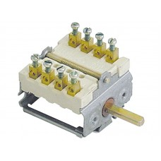 Comutator selector 2 pozitii de operare 4-NO secventa 0-1 16A #345665