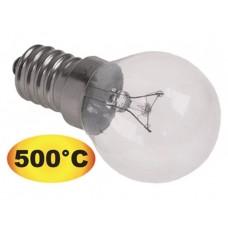 Bec t.max.500°C E14 25W 240V ø45mm pentru cuptor pizza K4500 #357100