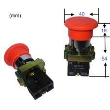 Buton urgenta cu retinere NO+NC 10A 600V #BS5545