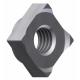 Piulita cu flansa M8 de auto-blocare la amortizor masina de spalat #3007028